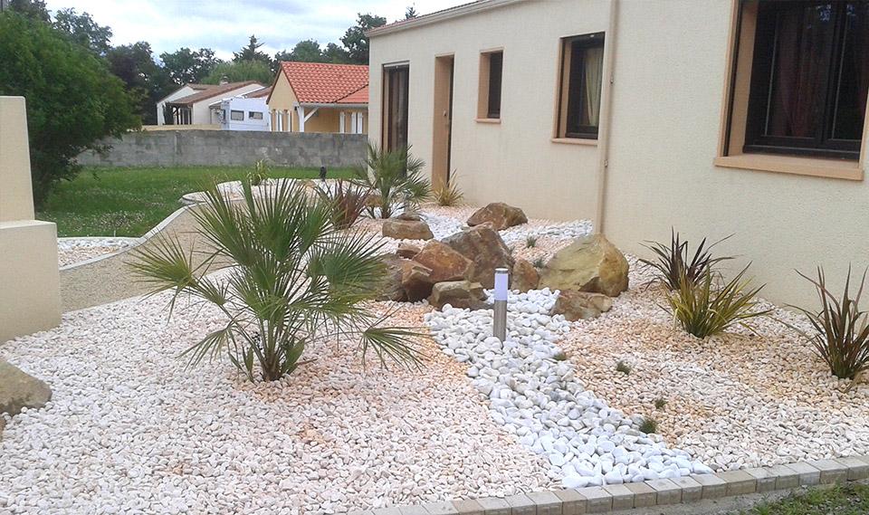Cr ation jardin et d cor min ral st phane leroy paysage for Jardin mineral